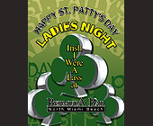 St Patty's Day Ladies Night at Bermuda Bar - Bermuda Bar Graphic Designs