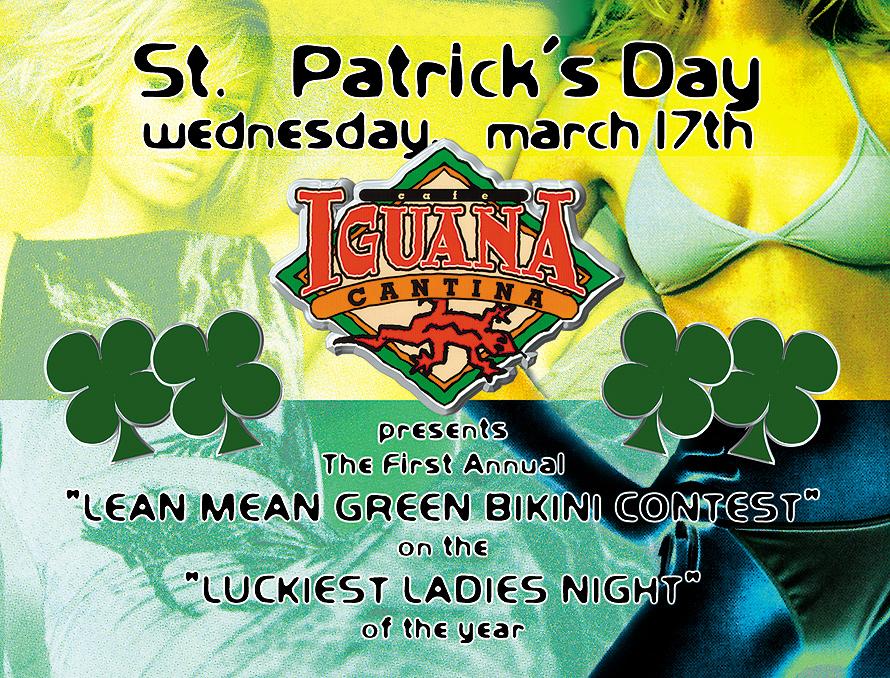 St. Patrick's Day at Cafe Iguana