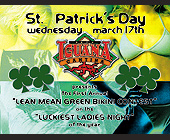 St. Patrick's Day at Cafe Iguana - tagged with streets of mayfair
