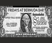What Do You Want From Life? - Bermuda Bar Graphic Designs