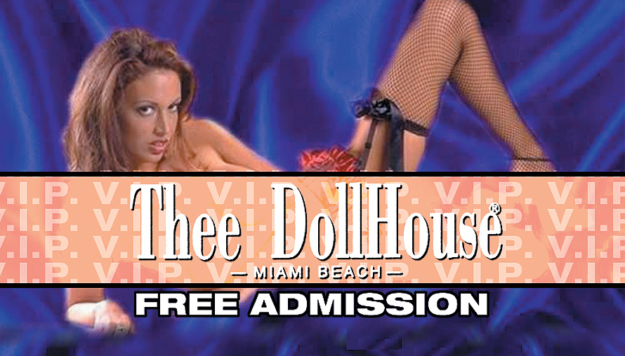 Thee Dollhouse Free Admission Pass
