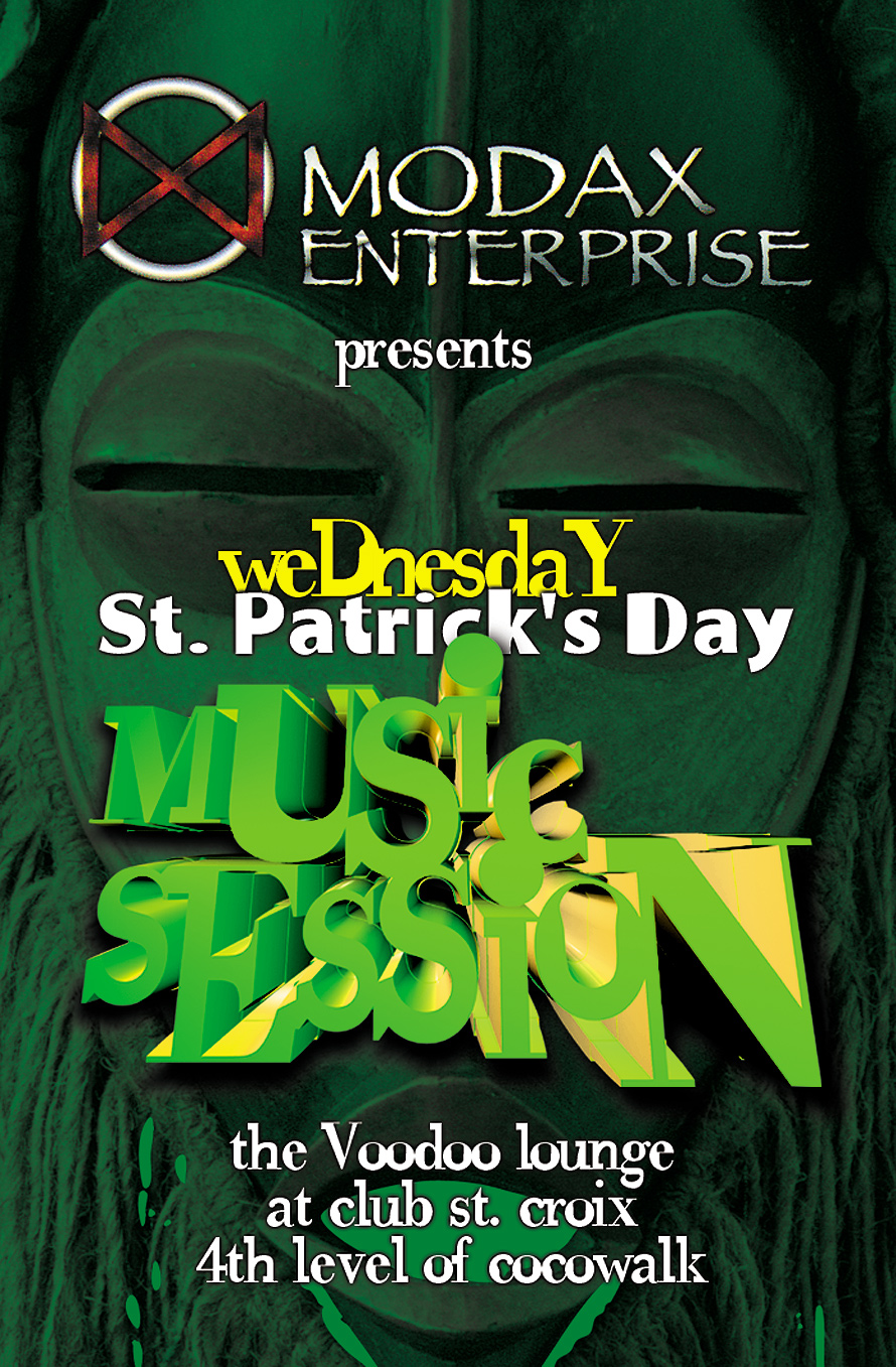 St. Patrick's Day Music Session at The Voodoo Lounge