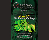 St. Patrick's Day Music Session at The Voodoo Lounge - Voodoo Lounge Graphic Designs