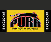 Purr Hip Hop Saturdays at Warsaw - 1313x563 graphic design