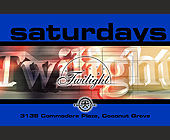 Twilight Saturdays at Boheme - 788x1200 graphic design