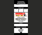 Rascals Comedy General Admission Ticket - tagged with Cool letters