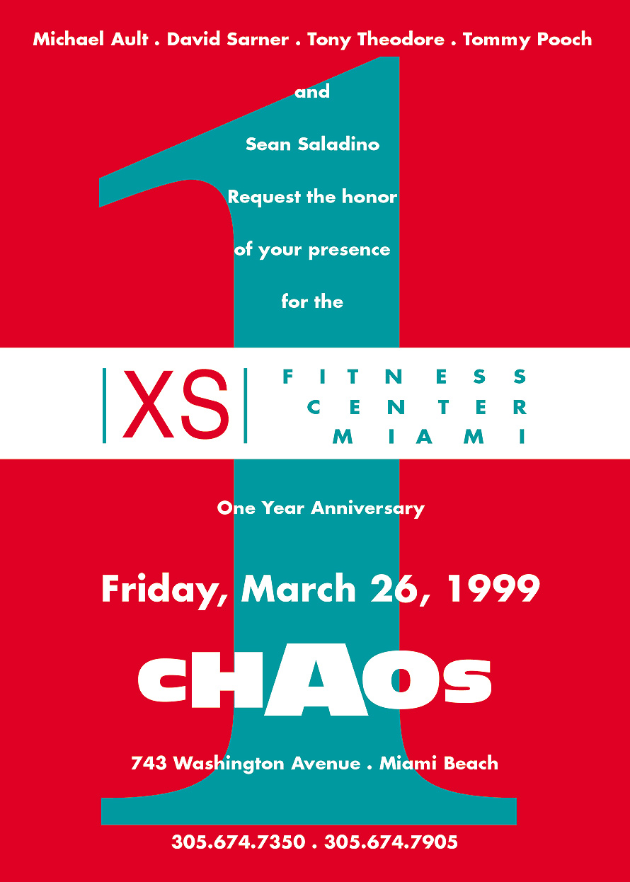 XS Fitness Center Miami at Club Chaos