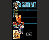 Miami's Celebrity Party at Cristal Nightclub - 1313x2125 graphic design