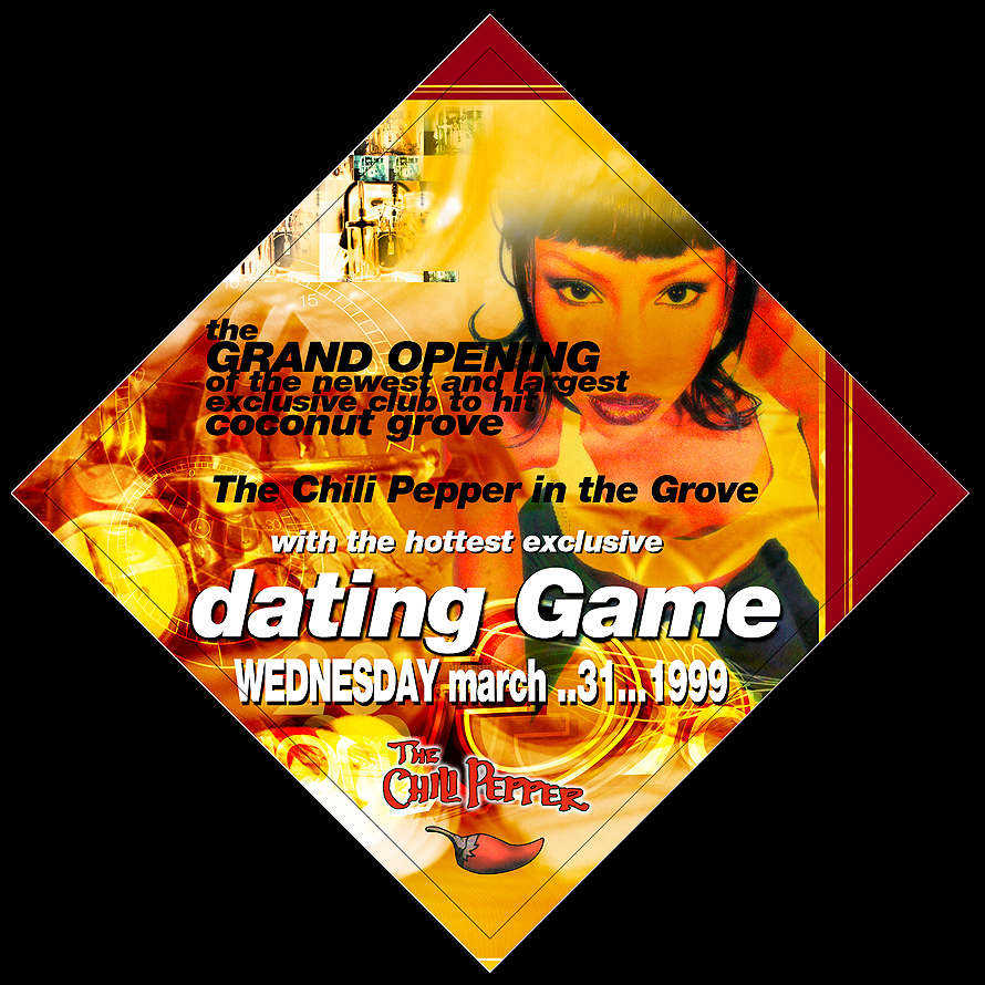 The Chili Pepper Dating Game in Coconut Grove