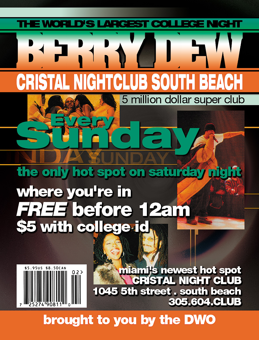 Berry Dew at Cristal South Beach