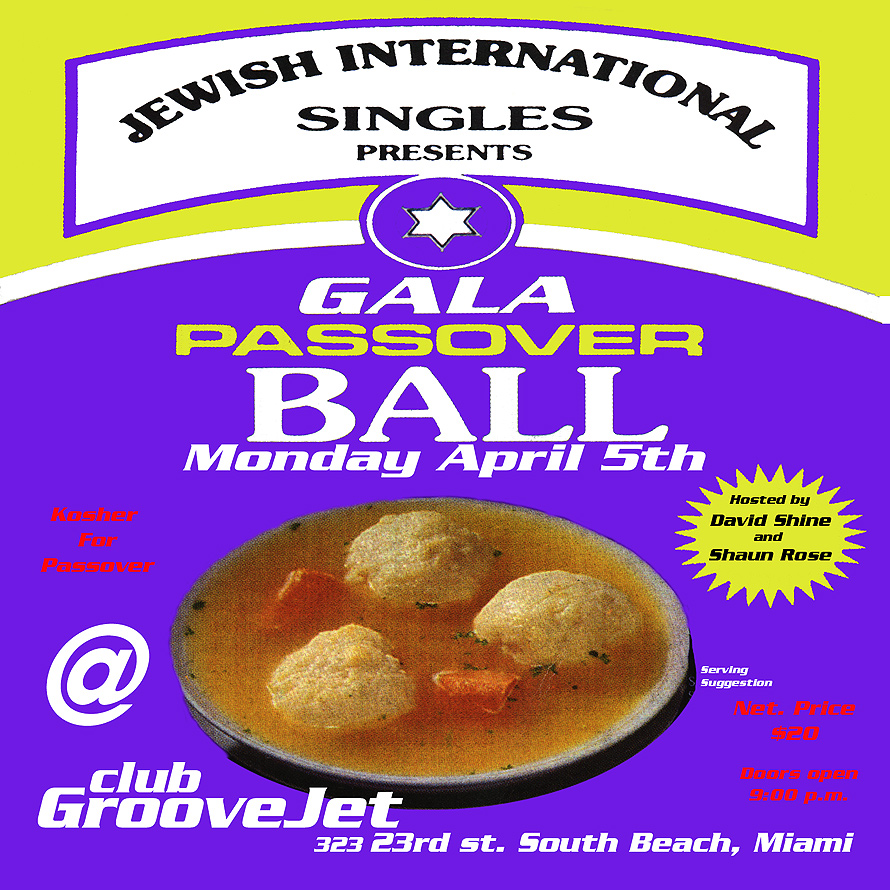 Gala Passover Ball at Groove Jet