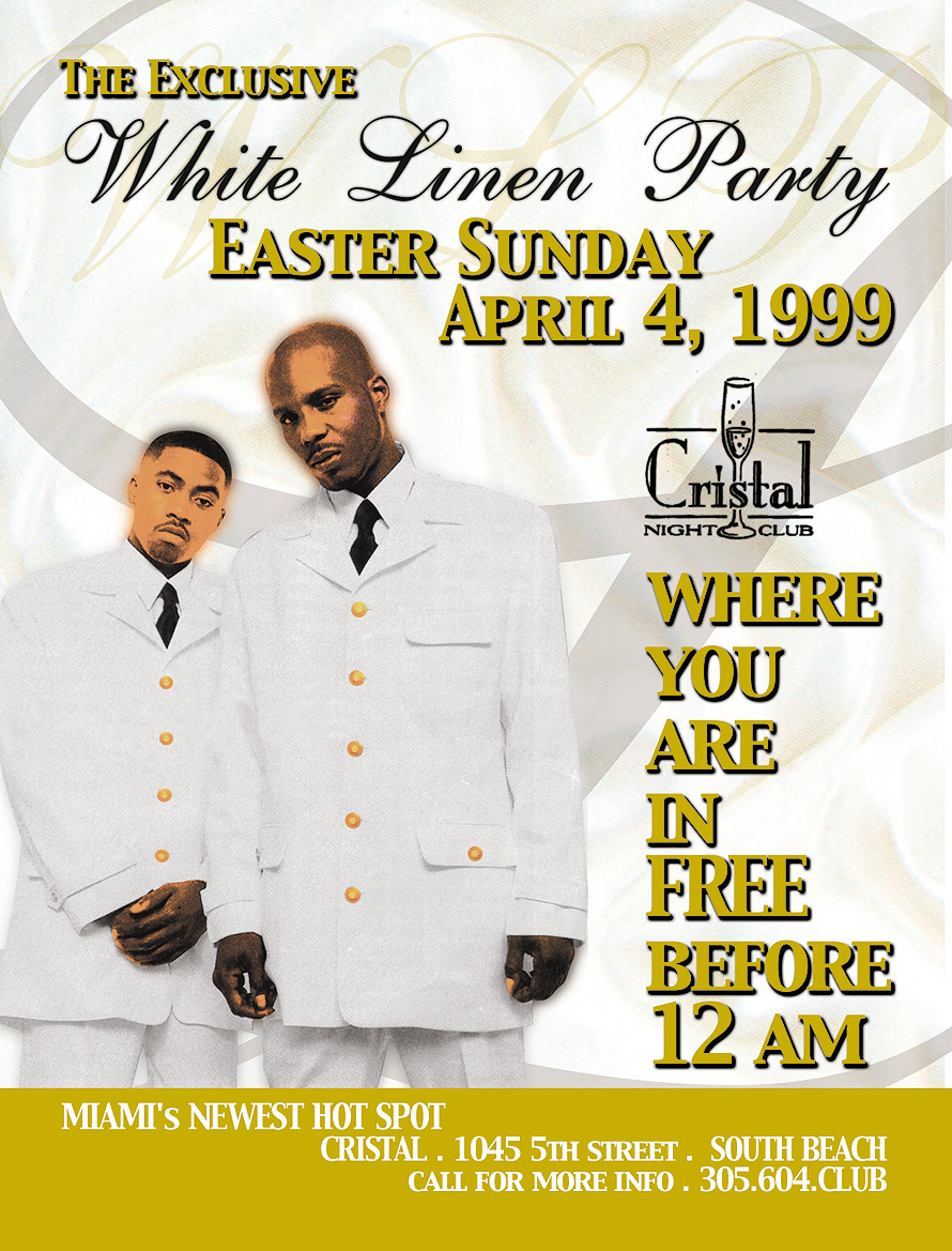 White Linen Party at Cristal South Beach