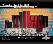 The Ultimate College Night at The Village - Voodoo Lounge Graphic Designs
