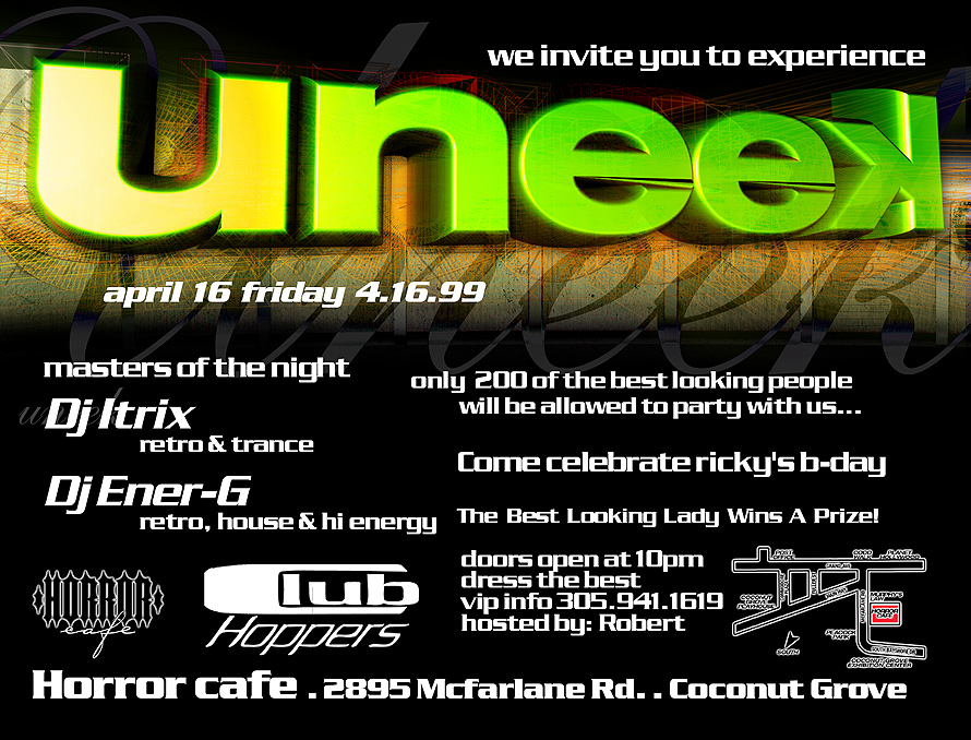 Uneek at Horror Cafe