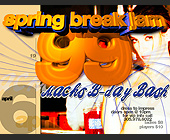 Spring Break Jam at Boheme - created March 29, 1999