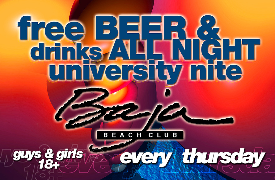 Thursday at Baja Beach Club