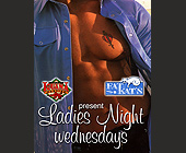Ladies Night Wednesdays at Cafe Iguana - 1200x1575 graphic design