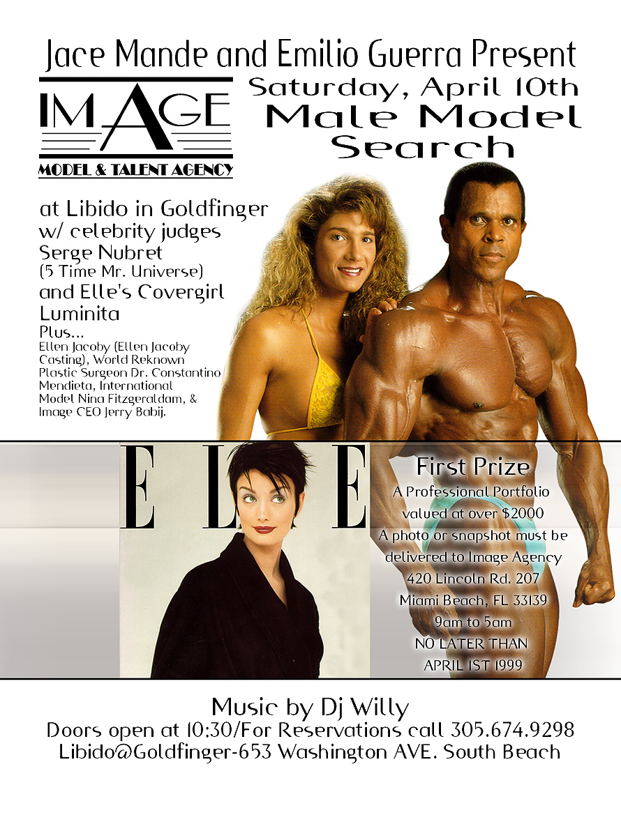 Image Model and Talent Agency Male Model Search