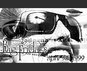Big Fridays at Club 901 - Flyer Printing