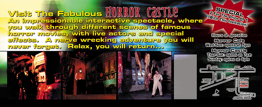 Haunted House at Horror Cafe