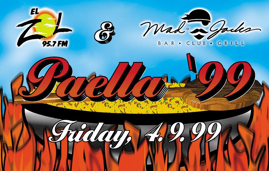 Paella at Mad Jacks Bar Club and Grill