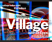 The Village Thursdays at Club St. Croix - tagged with abstract art