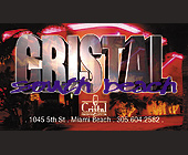 Club Cristal in South Beach - tagged with neon
