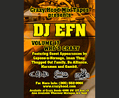 Crazy Hood Mixtapes Presents DJ EFN - 1650x1200 graphic design