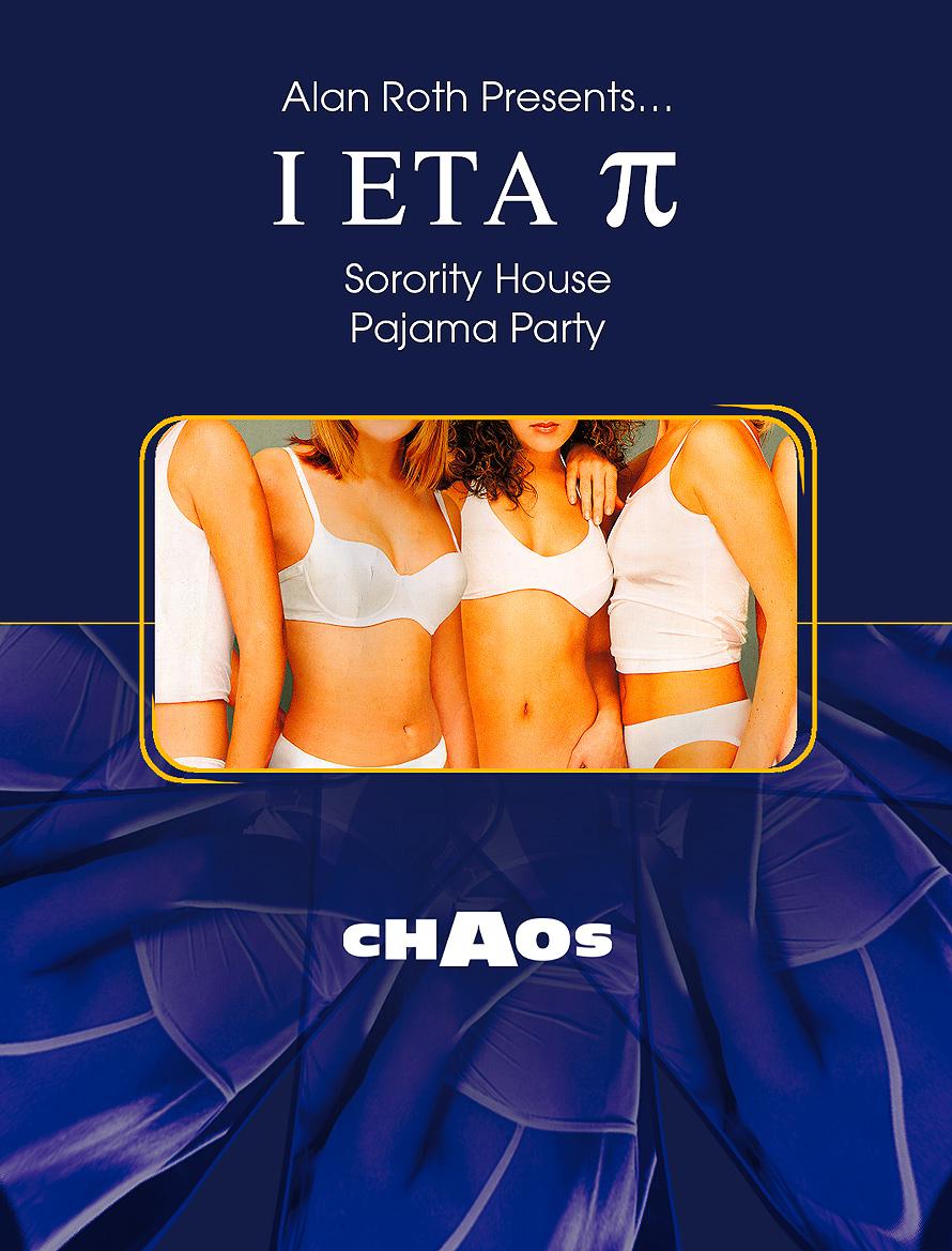 Sorority House Pajama Party at Chaos