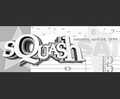 Squash at Nights of Columbus - 1000x2625 graphic design