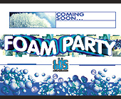 Foam Party by Bos Entertainment - tagged with coming