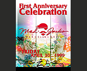 First Anniversary Celebration of Mad Jacks Miami - Mad Jacks Graphic Designs