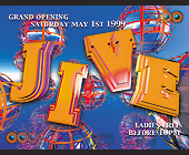 Grand Opening of Jive at Zanzibar in Miami Beach - Zanzibar Graphic Designs