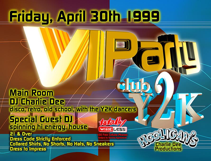 VIP Party at Club Y2K