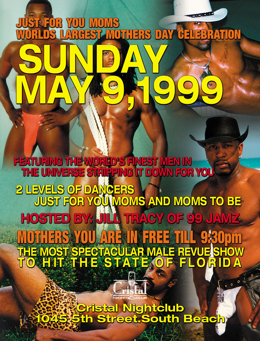 Just for Moms at Cristal Nightclub
