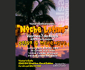 Noche Latina at Victors Cafe - tagged with drive