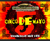 Cinco de Mayo at Wilderness Grill - Wilderness Grill Graphic Designs
