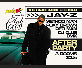 The Hard Knock Life Tour Jay-Z After Party at Club 609 - tagged with redman