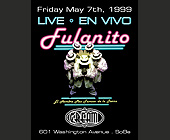 Fulanito Live at Cream Nightclub - tagged with neon