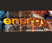 Playerz Presents Energy at Emerald City - tagged with doors open at 10