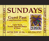 Sundays Guest Pass at La Covacha - 1000x625 graphic design