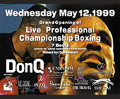 Live Professional Championship Boxing at Cristal Nightclub - tagged with 305.604.2582