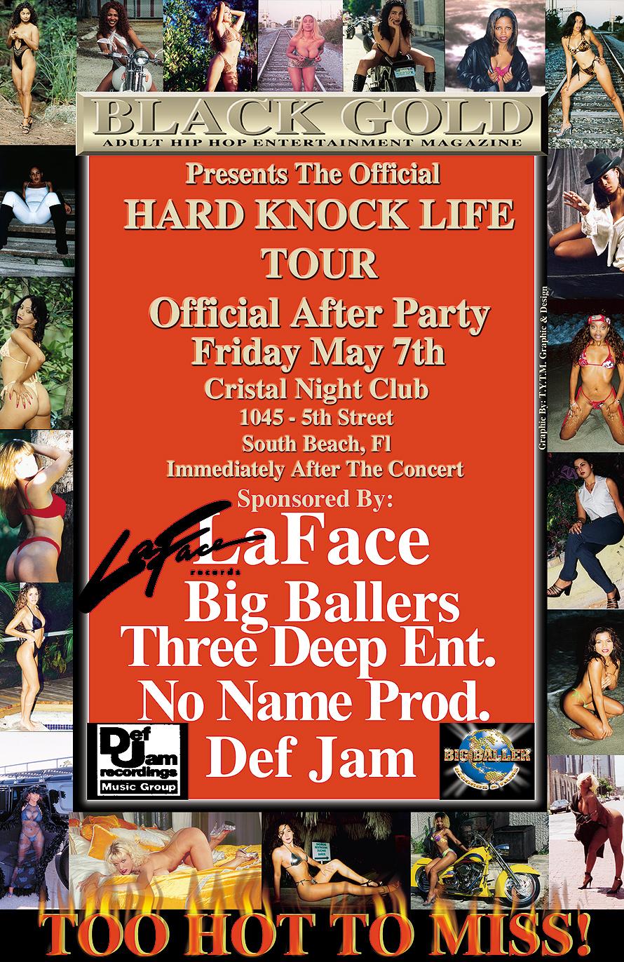 DMX Hard Knock Tour After Party