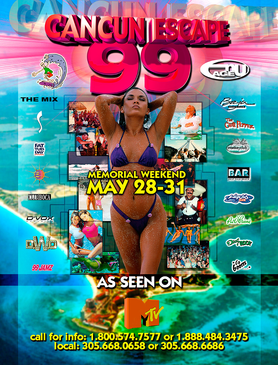 Cancun Escape Memorial Weekend