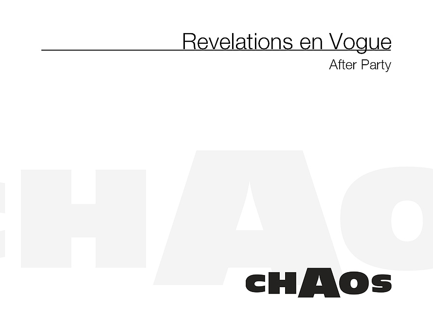 Revelations en Vogue After Party at Chaos
