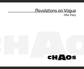 Revelations en Vogue After Party at Chaos - tagged with 305.674.7905