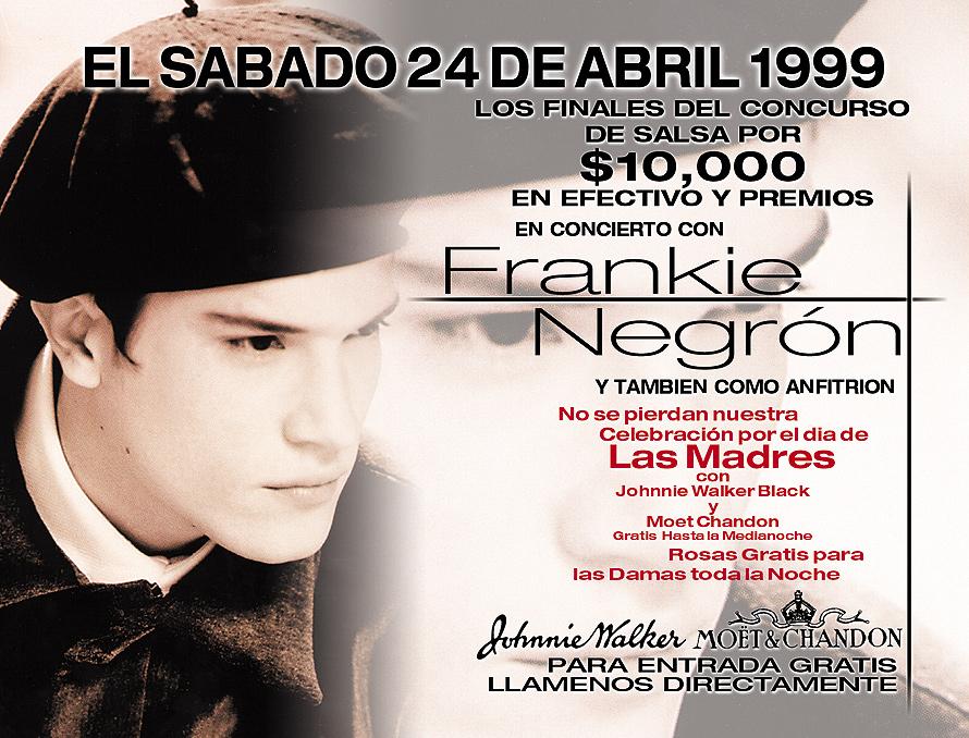 Frankie Negron Concert at Cristal Nightclub