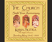 Kama Sutra The Night of Passions Sixth Year Anniversary of The Church - Groove Jet Graphic Designs