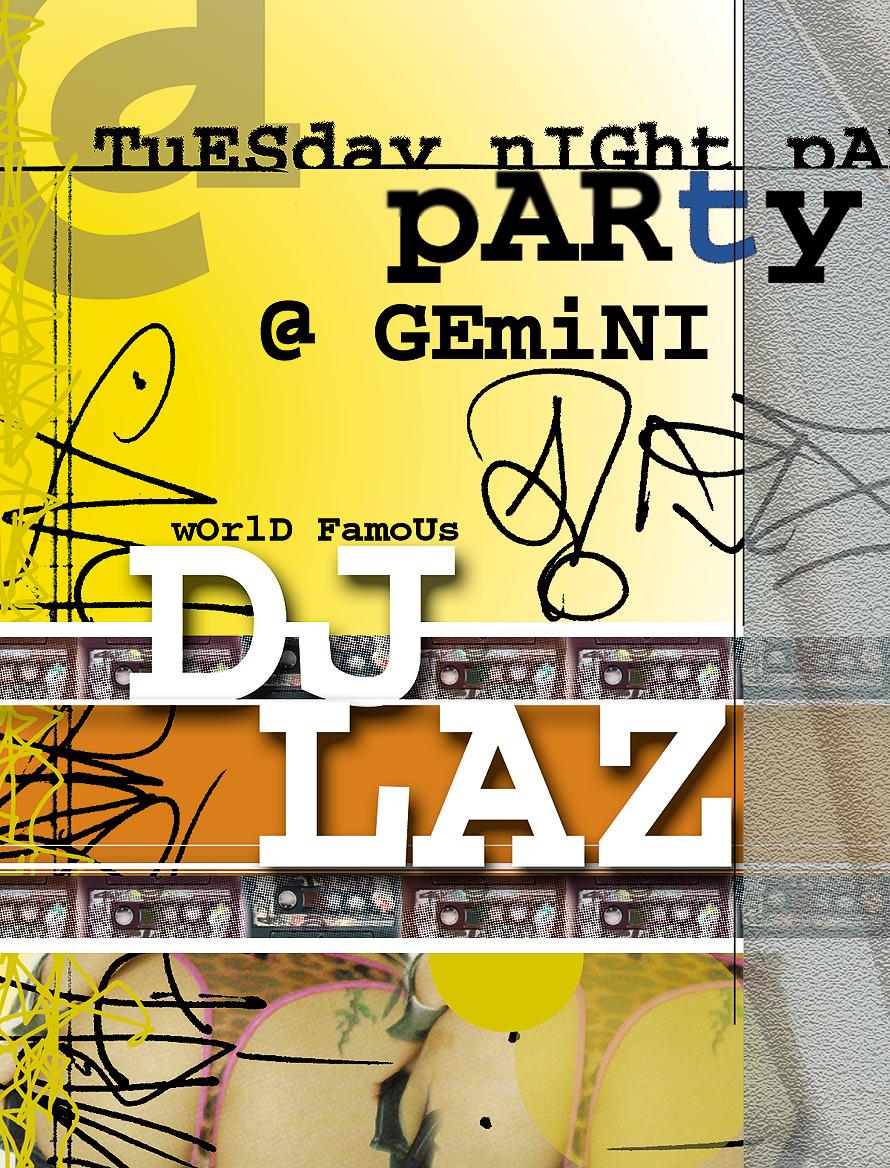 DJ Laz at Club Gemini