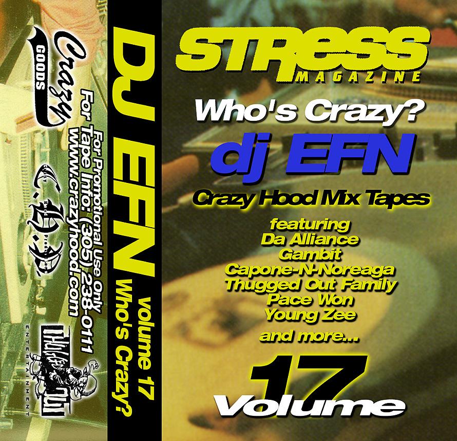 Stress Magazine DJ EFN Mixtape